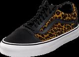 Vans - U Old Skool Leopard Leathr