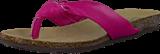 Park West - Leather Flip Flop Fuchsia