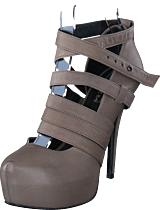 V Ave Shoe Repair - Revolve 360 Stiletto Earth Beige/Leather