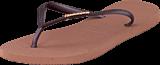 Havaianas - Slim Logo Metallic Crocus Rose