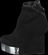 V Ave Shoe Repair - Plate Boot Black