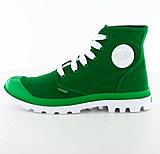Palladium - Blanc Hi W Green/White