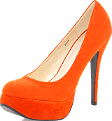 Sugarfree Shoes - Bowie Rust Orange