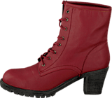 STHLM DG - Laced Boots Red
