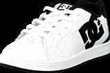 DC Shoes - Kids Net Shoe White/Black