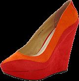 Sugarfree Shoes - Joanna Red