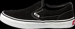 Vans - K Classic Slip-On Black/True Whit