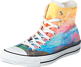 Converse - All Star Print Wmns Hi Solar Ora