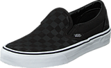 Vans - Classic Slip-On (Checkerboard) Black/Black