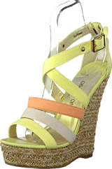 Sugarfree Shoes - Sunflower Yellow/Peach