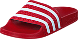 adidas Originals - Adilette Light Scarlet/White/Light Scar