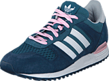 adidas Originals - Zx 700 W Mineral Blue/White/Clear Pink