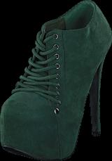 Sugarfree Shoes - Cornelia Dark Green