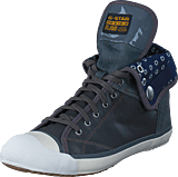 G-Star Raw - Grade II Faculty Lthr DK Grey Lthr & Textile