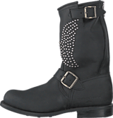 PrimeBoots - Angelo Mid Old Crazy Black