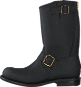 PrimeBoots - Engineer Mid 16 Old Crazy Black
