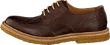 Knowledge Cotton Apparel - British Brogue Shoes Dark Earth