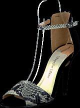 Sugarfree Shoes - Shiela Black/Snake