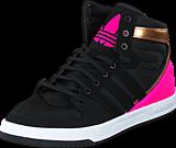 adidas Originals - Court Attitude K Core Black/Shock Pink S16