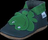 Bobux - Green Frog Green