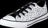 Converse - All Star Kids Ox Black/White/Black