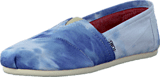 Toms - Women's Classics Blue Tie-Dyed