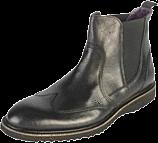 Playboy - Playboy Ladies Chelsea Boot 110296 01-01 Black