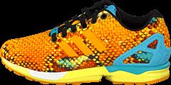 adidas Sport Performance - Zx Flux Gold/White/Bright Cyan
