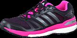 adidas Sport Performance - Supernova Sequence 7 W Black/Carbon Met./Neon Pink