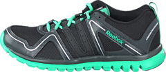 Reebok - Sublite Finishing K Black/Gravel/Teal/Silver Met