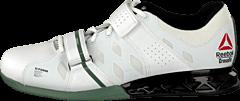 Reebok - R Crossfit Lifter Plus2.0 White/Black/Silvery Green