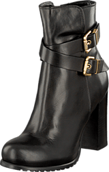 A Pair - Buckle Bootie Black