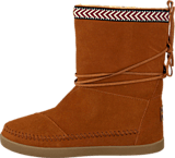 Toms - Suede Trim Womens Nepal Boot Chestnut