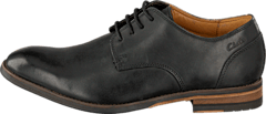 Clarks - Exton Walk Black Leather