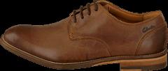 Clarks - Exton Walk Tobacco Leather