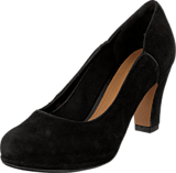 Clarks - Chorus Nights Black Suede