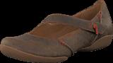 Clarks - Felicia Plum Khaki Leather
