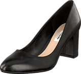 Clarks - Blissful Cloud Black Leather