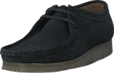 Clarks - Wallabee Black Suede