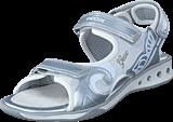 Geox - Jr Sandal Jocker Silver/White