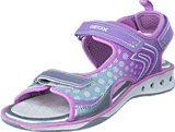 Geox - Jr Sandal Jocker Silver/Lt Lilac