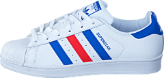 adidas Originals - Superstar Ftwr White/Blue/Red