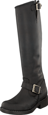 Johnny Bulls - High Zip Back Black/Silver