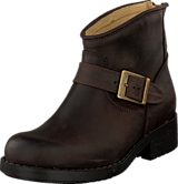 Johnny Bulls - Very Low Boot Zip Back Brown/Gold