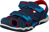 Timberland - Adventure Fisherman Navy/Red/Blue