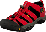 Keen - Newport H2 Youth Ribbon Red/Gargoyle