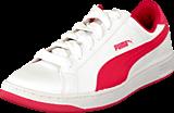 Puma - Puma Smash L Jr White-Geranium
