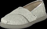 Toms - Classics Kids Silver Glimmer