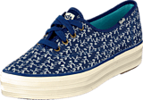 Keds - Triple Botanical Navy