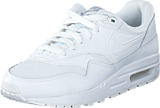 Nike - Nike Air Max 1 (Gs) White/White-Metallic Silver